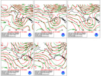 Day 4-8  WPC Versus GFS 500mb Heights for Alaska