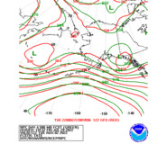 Day 4 WPC and GFS 500mb Height Forecasts