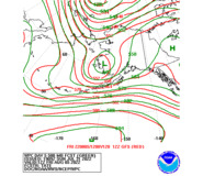 Day 5 WPC and GFS 500mb Height Forecasts