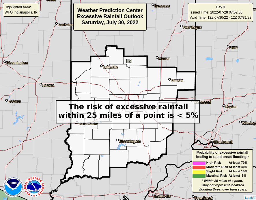 WPC Day 3 Outlook - Central Indiana
